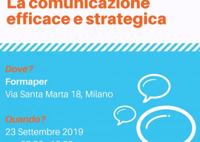 Corso di Comunicazione Efficace e Strategica