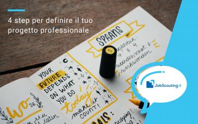 4 step per definire il tuo progetto professionale